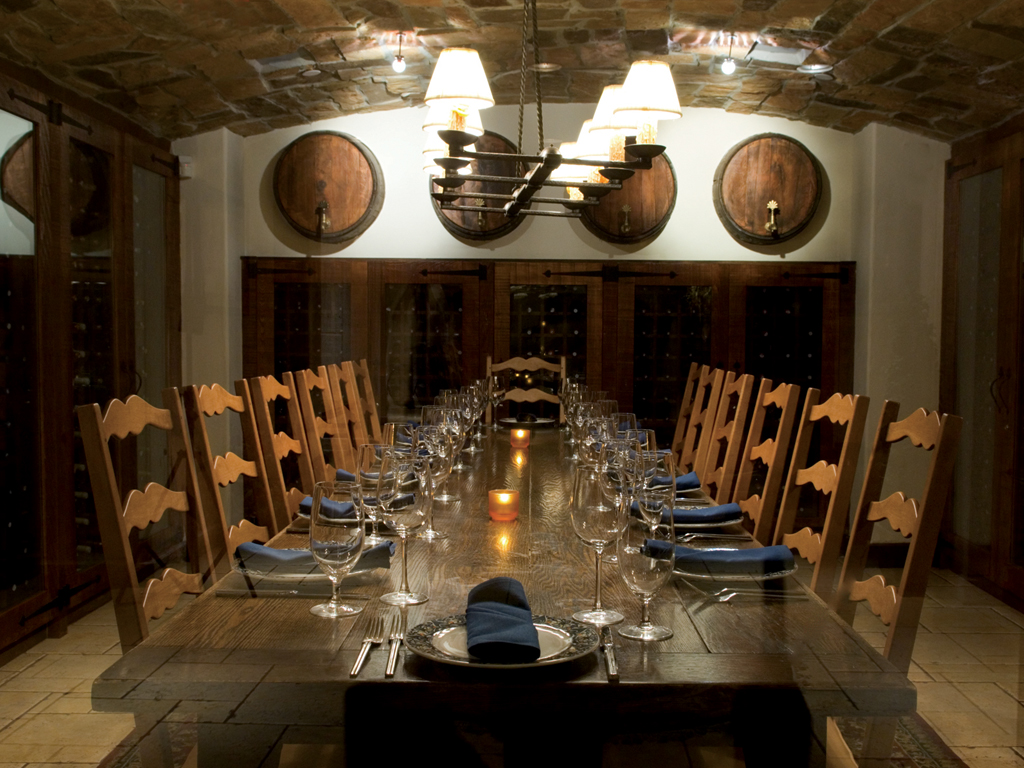 Private Dining Room · Wine Room